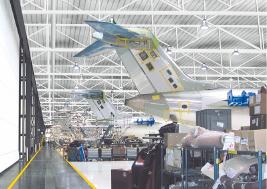 Bombardier usine